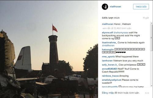 Nghi vấn thành viên One Direction bí mật sang Việt Nam - 1