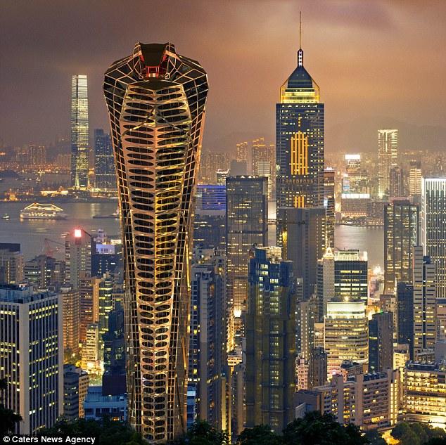 Những tòa nhà chọc trời có hình thù kỳ dị nhất thế giới - 1