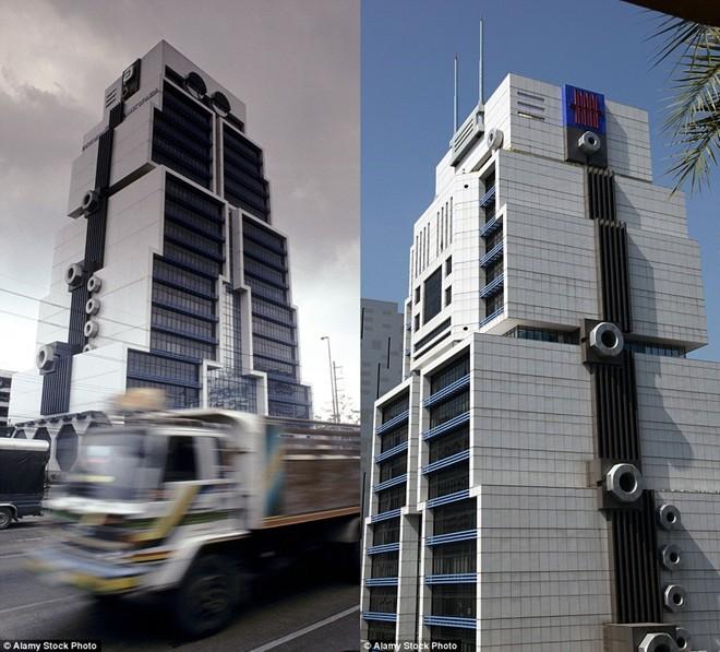 Những tòa nhà chọc trời có hình thù kỳ dị nhất thế giới - 4