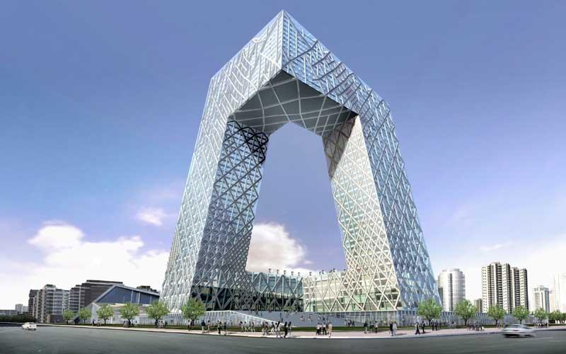 Những tòa nhà chọc trời có hình thù kỳ dị nhất thế giới - 9
