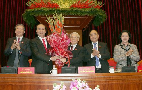 Ông Trần Đại Quang điều hành khai mạc Hội nghị Trung ương 2 - 1