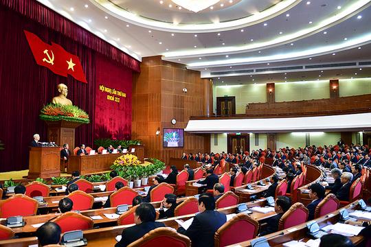 Ông Trần Đại Quang điều hành khai mạc Hội nghị Trung ương 2 - 2