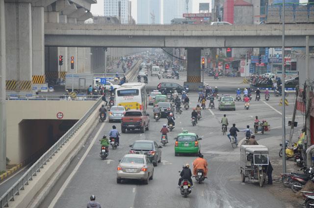 """Gỡ """"ma trận"""" giao thông nút giao Thanh Xuân trong tháng 3 - 1"""