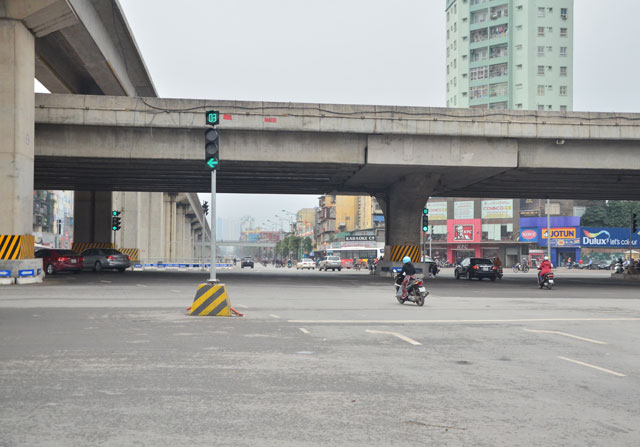 """Gỡ """"ma trận"""" giao thông nút giao Thanh Xuân trong tháng 3 - 2"""