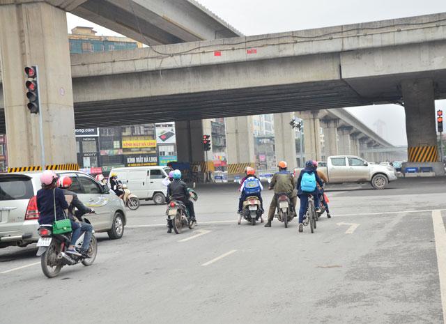 """Gỡ """"ma trận"""" giao thông nút giao Thanh Xuân trong tháng 3 - 3"""