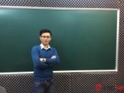 Giáo dục - du học - Thầy giáo đẹp trai chia sẻ bí quyết ôn tập tốt môn Toán thi THPT năm 2016