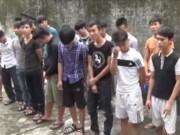 """Video An ninh - Giang hồ Nghệ An kéo """"bầy đàn"""" chém nhau chỉ vì """"say"""""""