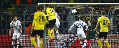 Video Dortmund vs Tottenham - 1