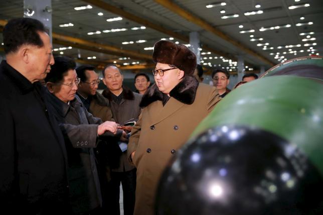 Kim Jong-un ra lệnh tiếp tục thử hạt nhân - 1