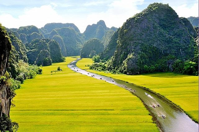 """Tam Cốc- Bích Động, """"Vịnh Hạ Long trên cạn"""" ở Ninh Bình - 5"""