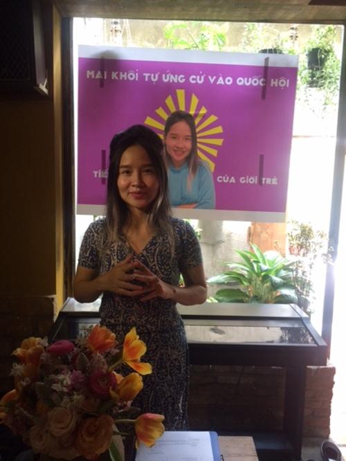 Ca sĩ Mai Khôi ứng cử Đại biểu Quốc hội khóa 14 - 2
