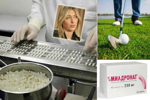 """Vụ doping: Sharapova """"ghen tị"""" với các golf thủ - 1"""