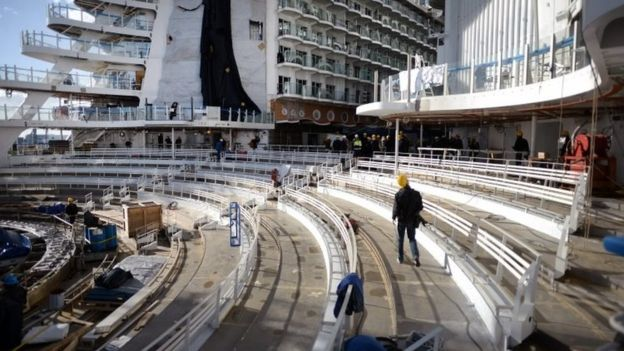 """Con tàu lớn nhất thế giới """"lên đường"""" - 3"""