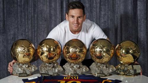 Nhiều siêu sao khao khát đá cạnh Messi - 2
