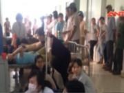 Sau bữa cơm trưa, gần 70 công nhân nhập viện khẩn cấp