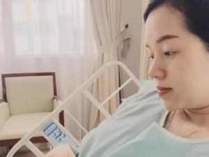 Hot girl Ly Kute bất ngờ nhập viện khi bầu 8 tháng