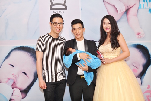 Phi Thanh Vân lần đầu khoe con trai - 6