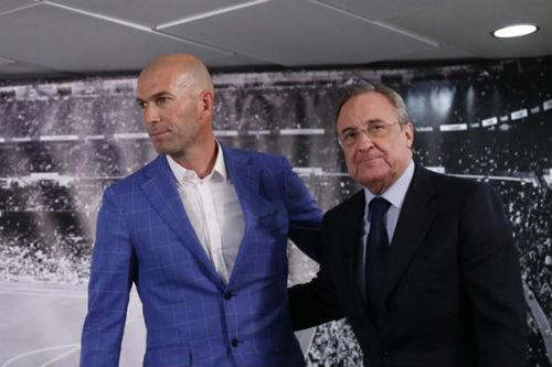 Real lại có biến: Zidane bất đồng Perez - 1