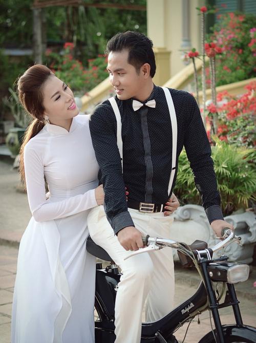 Bà xã xinh đẹp, kín tiếng của vợ các tài tử màn ảnh Việt - 4