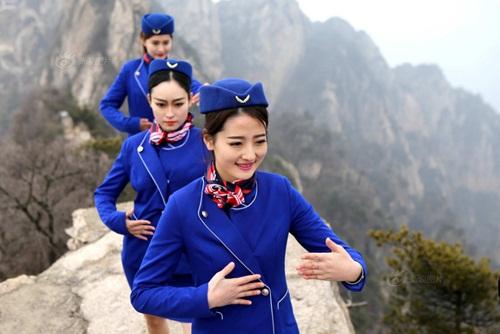 Tiếp viên hàng không lên núi học võ luyện can đảm - 4
