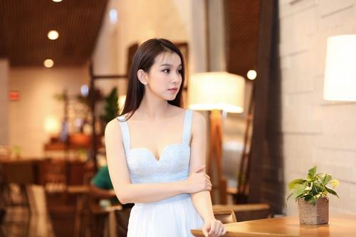 Hoa hậu Thùy Lâm xinh như thiên thần - 4