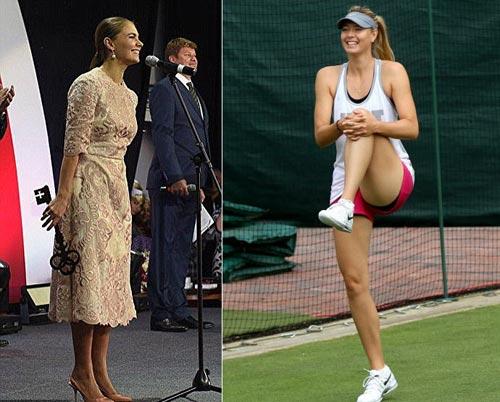 """Người đẹp quyền lực Nga """"chống lưng"""" Sharapova - 1"""