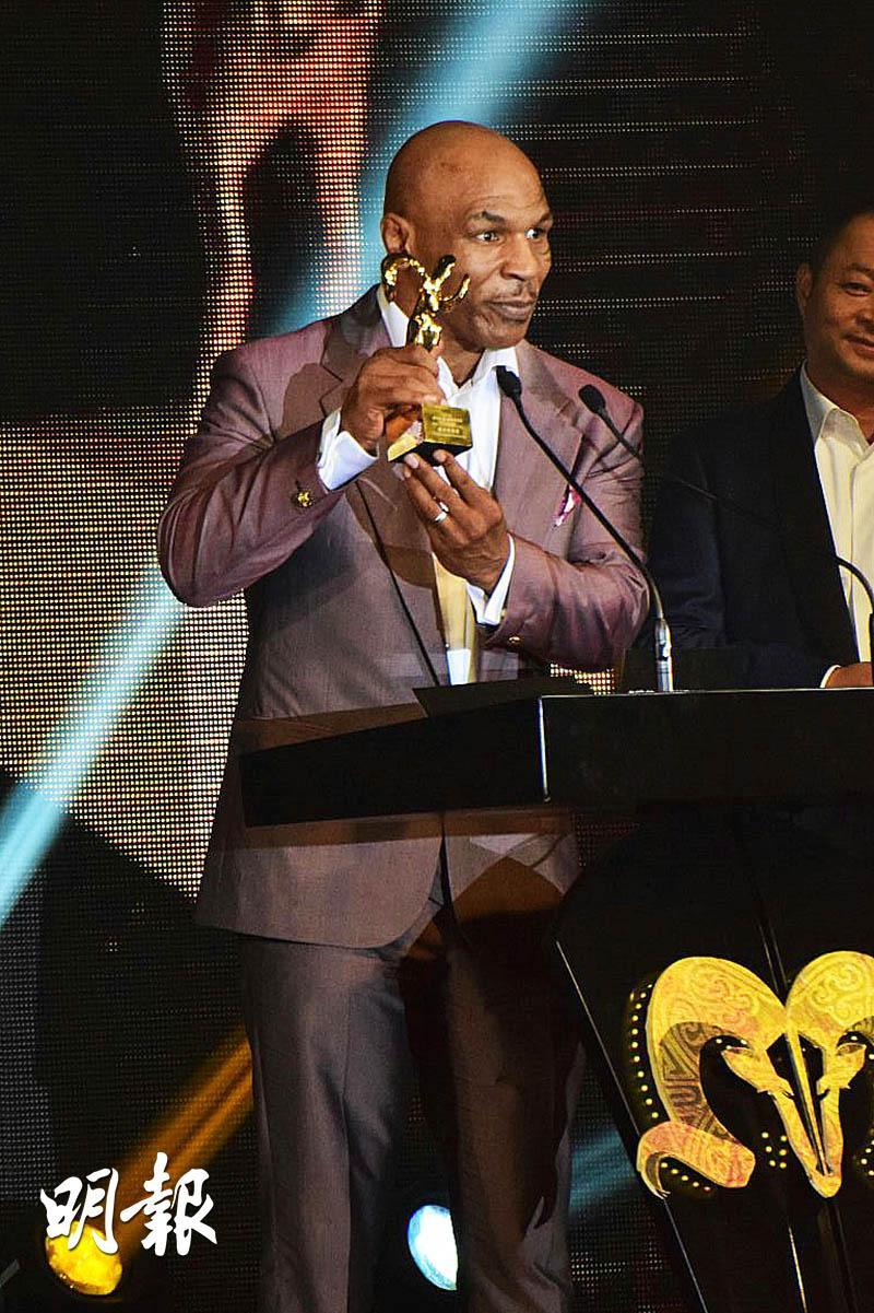 """Mike Tyson giành tượng vàng nhờ """"Diệp Vấn 3"""" - 1"""