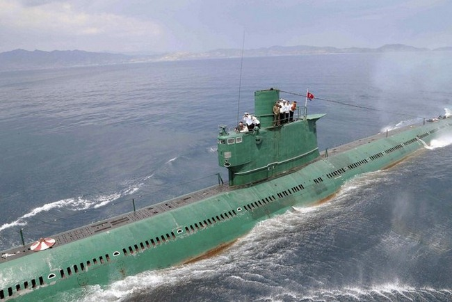 Tàu ngầm Triều Tiên đột nhiên mất tích - 1