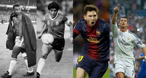 So tài Ronaldo-Messi: M10 so với Maradona, còn CR7? (P4) - 1