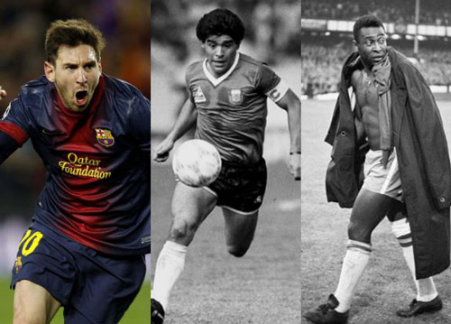So tài Ronaldo-Messi: M10 so với Maradona, còn CR7? (P4) - 3