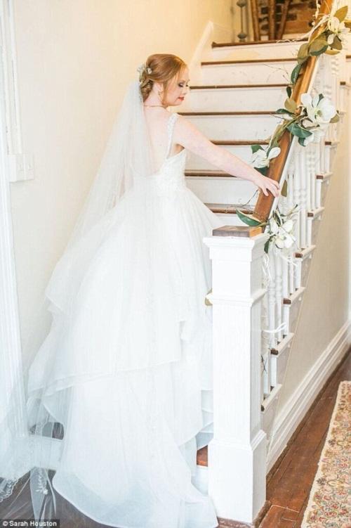 Nghẹn ngào đám cưới cổ tích của cô gái bị bệnh Down - 6