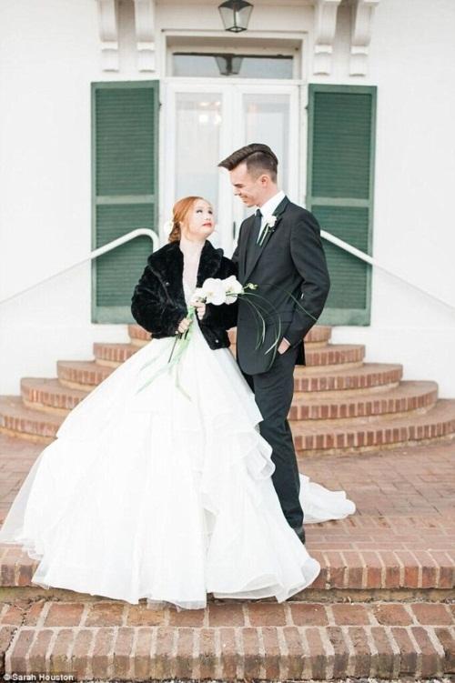 Nghẹn ngào đám cưới cổ tích của cô gái bị bệnh Down - 7