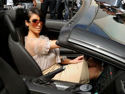 Ngắm dàn siêu xe của siêu vòng 3 Kim Kardashian - 1