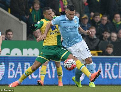 Chi tiết Norwich - Man City: Chống trả kiên cường (KT) - 3