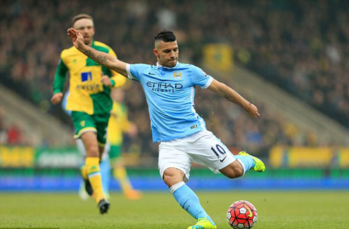 Video Man City vs Norwich - 1