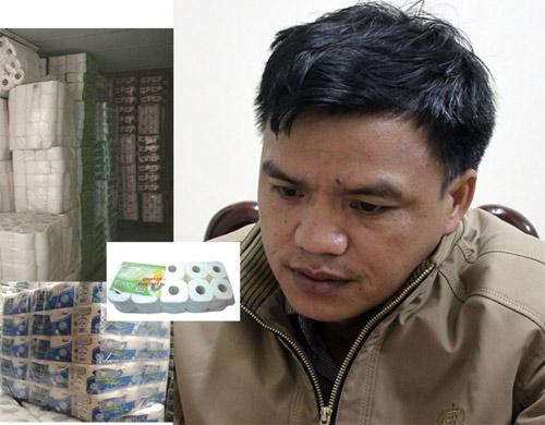 Xưởng sản xuất giấy vệ sinh làm giả 2 tấn nhãn mác - 1