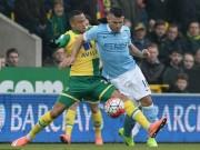 Video bàn thắng - Norwich - Man City: Xe bus 2 tầng