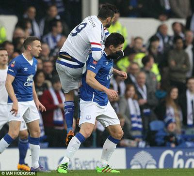 Chi tiết Everton - Chelsea: 3 phút 2 thẻ đỏ (KT) - 4