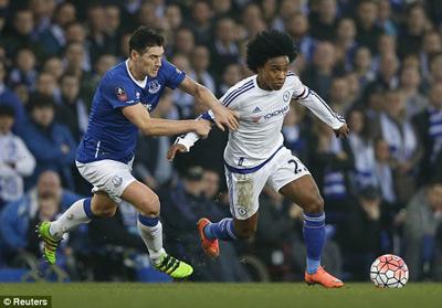 Chi tiết Everton - Chelsea: 3 phút 2 thẻ đỏ (KT) - 6
