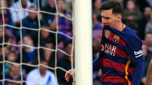 Lại hỏng phạt đền, Messi lập kỷ lục buồn rười rượi - 1