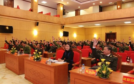 Bốn tướng công an được giới thiệu ứng cử ĐBQH - 1