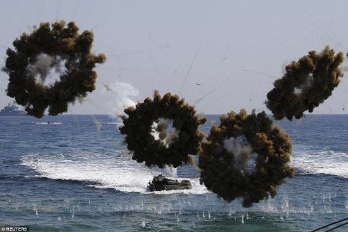 Ảnh: Mỹ - Hàn tập trận đổ bộ lớn chưa từng thấy - 2