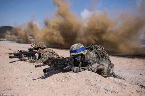 Ảnh: Mỹ - Hàn tập trận đổ bộ lớn chưa từng thấy - 8