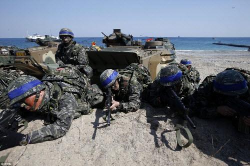 Ảnh: Mỹ - Hàn tập trận đổ bộ lớn chưa từng thấy - 9