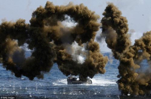 Ảnh: Mỹ - Hàn tập trận đổ bộ lớn chưa từng thấy - 10
