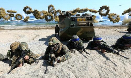 Ảnh: Mỹ - Hàn tập trận đổ bộ lớn chưa từng thấy - 11