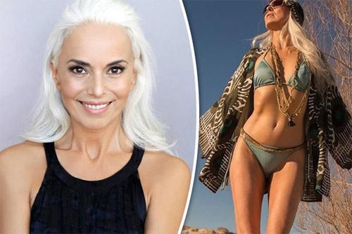 """Người mẫu bikini 60 tuổi trẻ như 30 tuổi nhờ dầu giá """"bèo"""" - 1"""