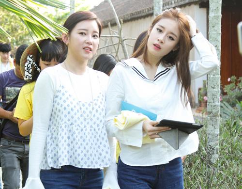 T-ara đẹp hút hồn khi diện áo dài ở Việt Nam - 8