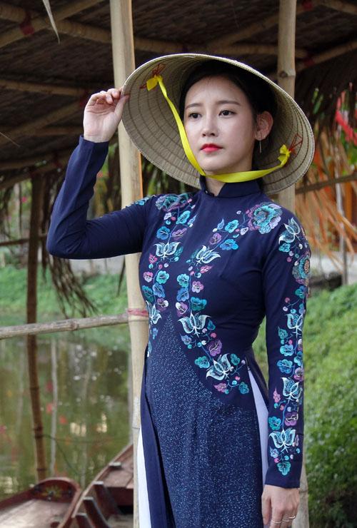 T-ara đẹp hút hồn khi diện áo dài ở Việt Nam - 2