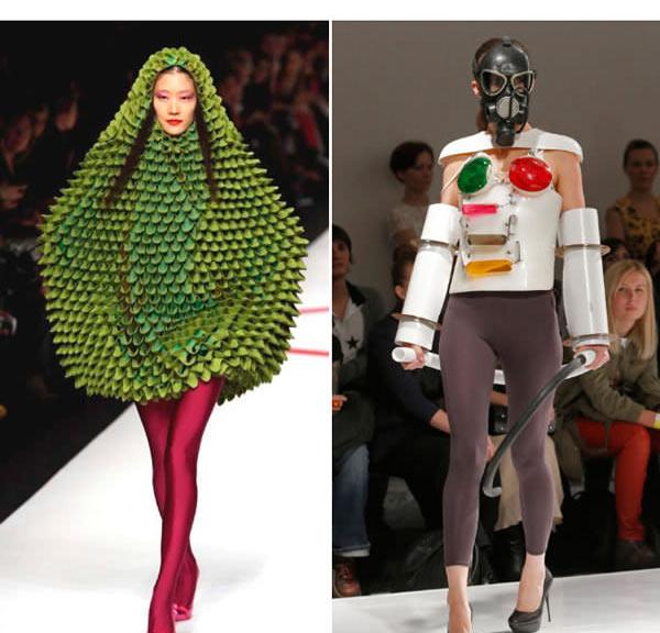 """Những mẫu váy áo """"doạ người"""" ít ai dám liều mặc - 12"""